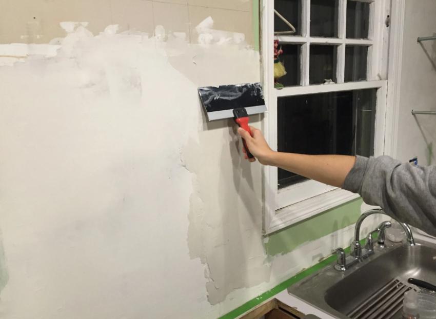 drywall application